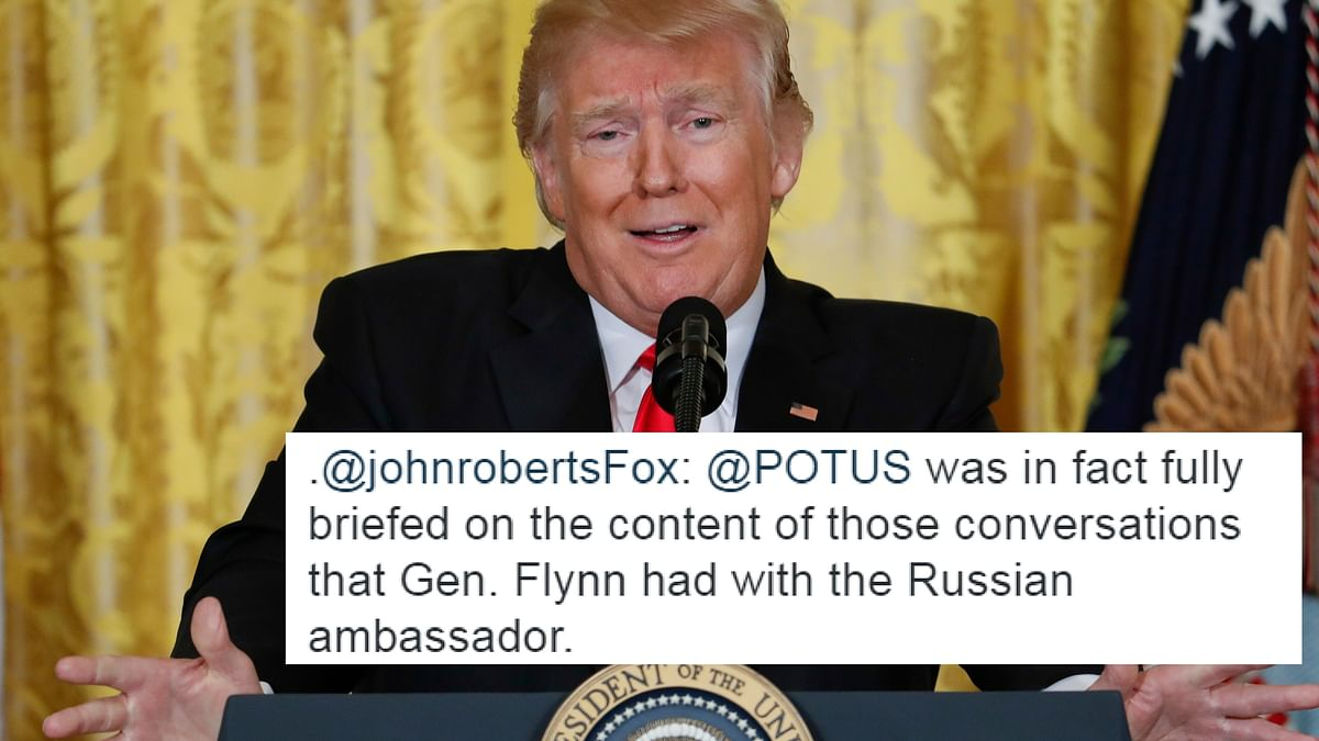 Trump Knew About Flynn-Russia Talks, Reports His Beloved Fox News