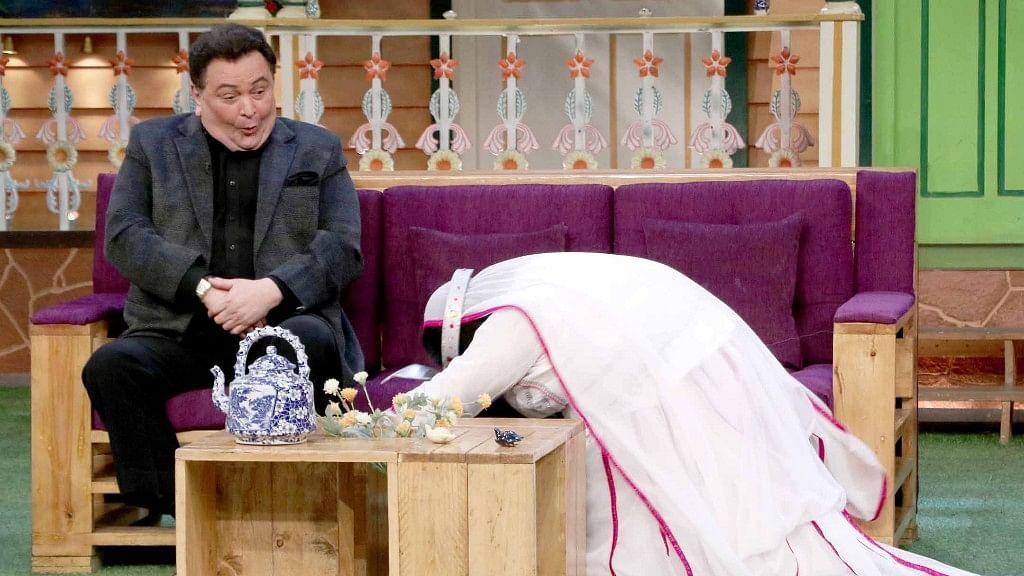 Rishi Kapoor on <i>The Kapil Sharma Show.</i> (Photo: Yogen Shah)