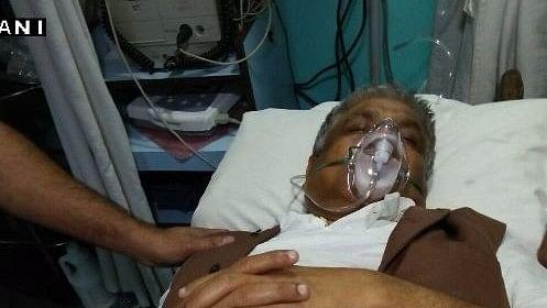 Congress MLA Abdul Mannan hospitalised. (Photo: ANI)