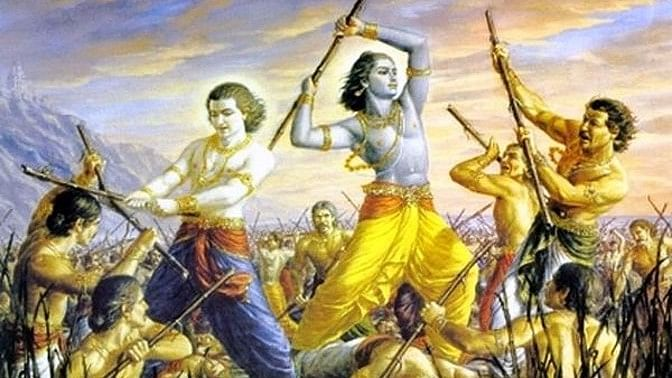 """Every major party's election strategy focuses on a victory in Hastinapur, believed to be the capital of the mythological Pandavas. (Photo Courtesy:<a href=""""http://hinduhumanrights.info/""""> hinduhumanrights.info</a>)"""