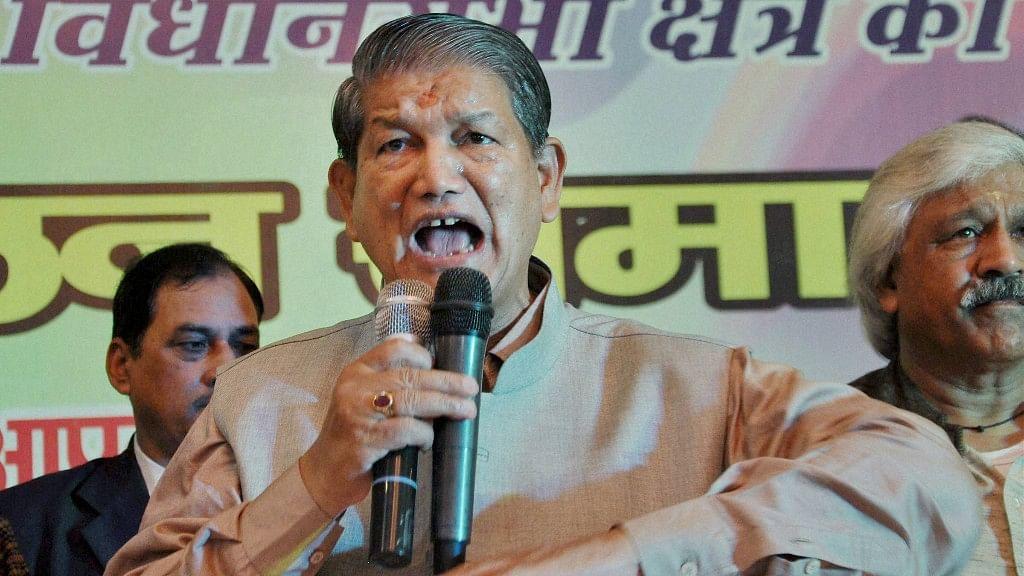 Uttarakhand CM Harish Rawat.