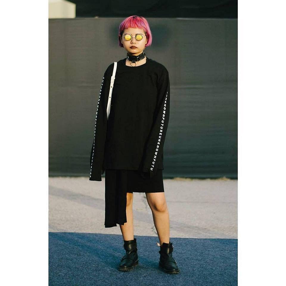 Lirminta Rongpipi in her signature punk rock look. (Photo: Lirminta Rongpipi)