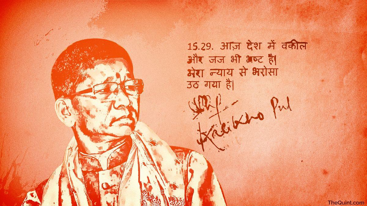 Former Arunachal Pradesh CM Kalikho Pul.