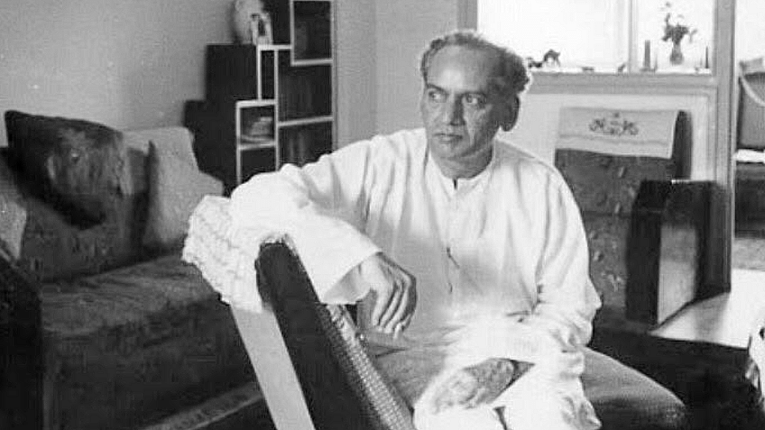 Faiz Ahmad Faiz in quiet contemplation.