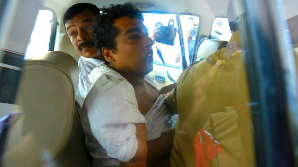 Pulsar Suni, the prime accused in the abduction and alleged molestation of a prominent Malayalam actor.