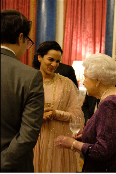 """Musician Anoushka Maestro was amongst the notable guests at the event (Photo/Twitter<a href=""""https://twitter.com/RoyalFamily"""">@RoyalFamily</a>)"""