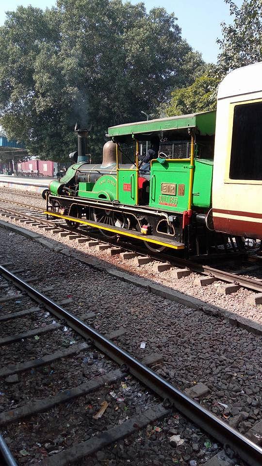 "The Fairy Queen locomotive. (Photo Courtesy: Facebook/<a href=""https://www.facebook.com/ravi.gulia.336"">Ravi Gulia</a>)"