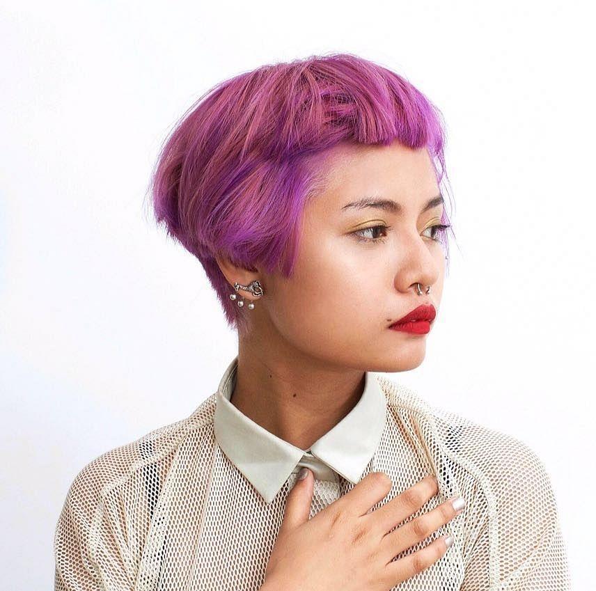 Lirminta Rongpipi in an earlier hair colour. (Photo: Rod Anker Salons)