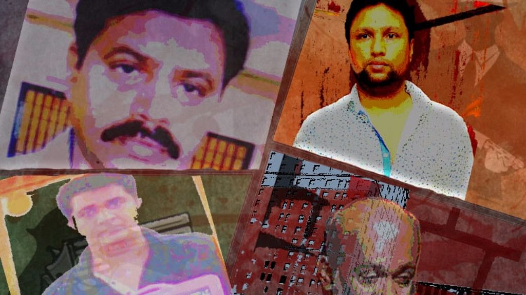 In Bengaluru's underworld, fleeting instances of fame and the fear of being killed are ground realities. (Photo: The News Minute)