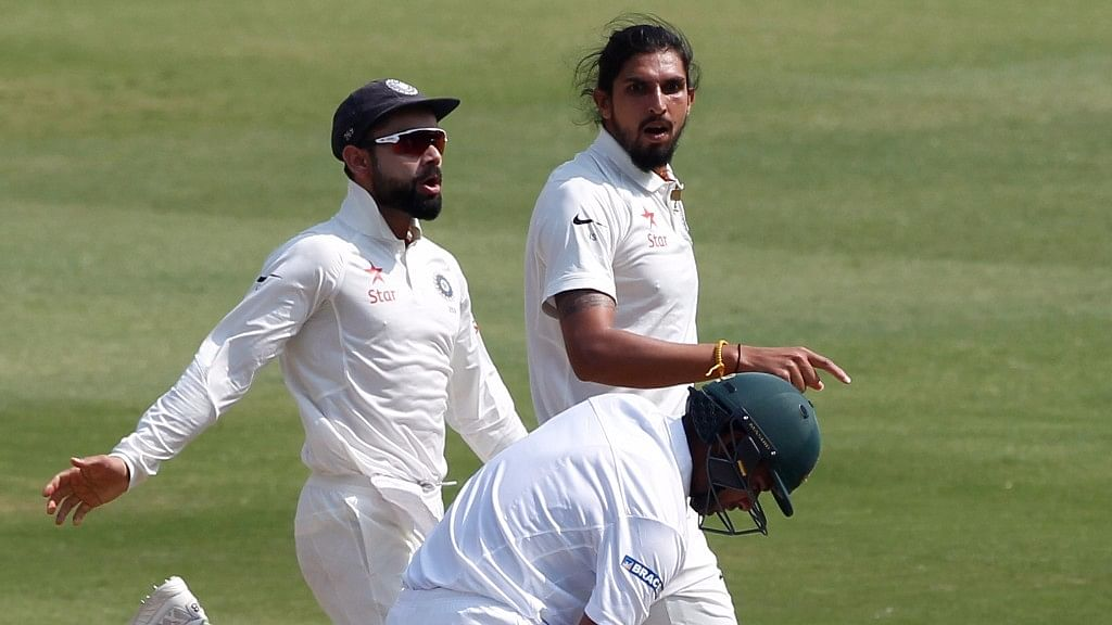 India picked up five wickets on day three of the one-off Test against Bangladesh in Hyderabad on Sunday. (Photo: BCCI)