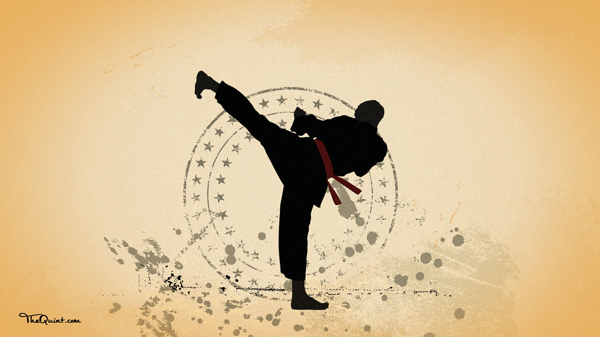Tea Vendor's Son Dreams of Becoming National Karate Champion