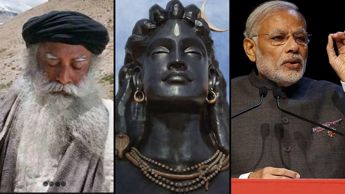 Environmentalists fear that PM Modi's visit to Coimbatore will legitimise Isha Foundation's illegal activities. (Photo: <b>The Quint</b>)