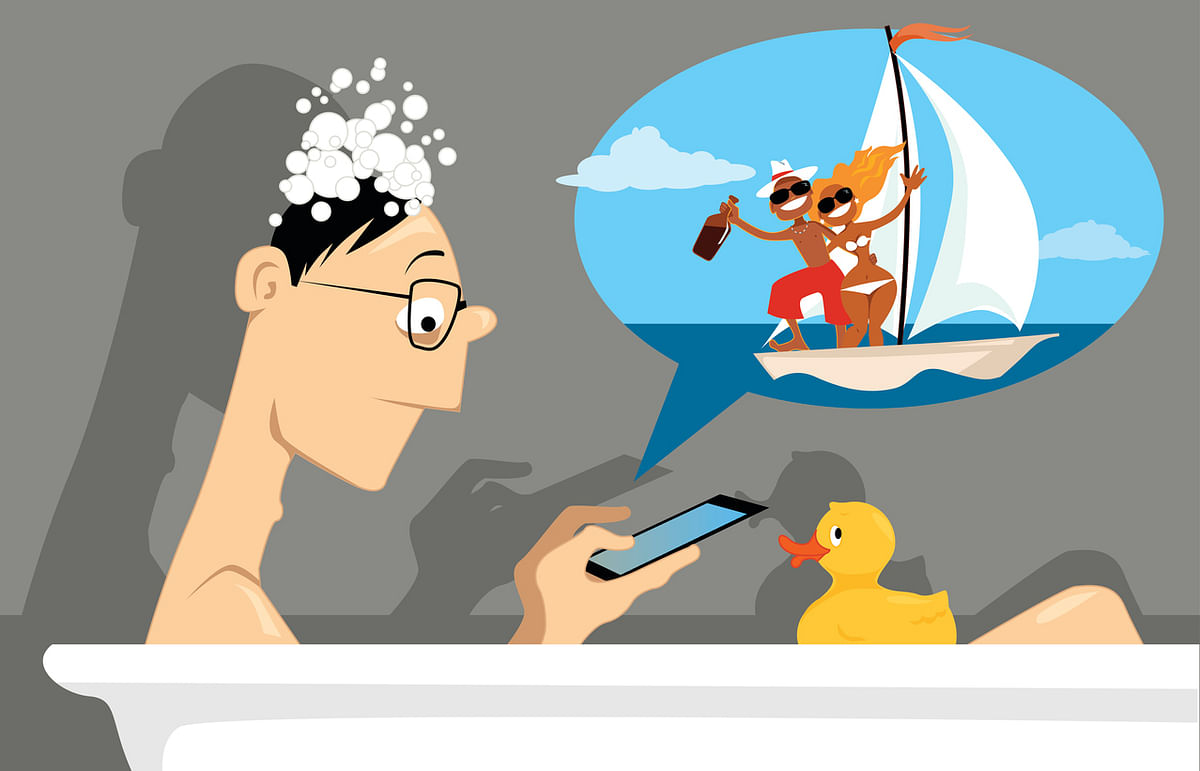 Social media platforms are a source of generalised anxiety disorders. (Photo: iStock)