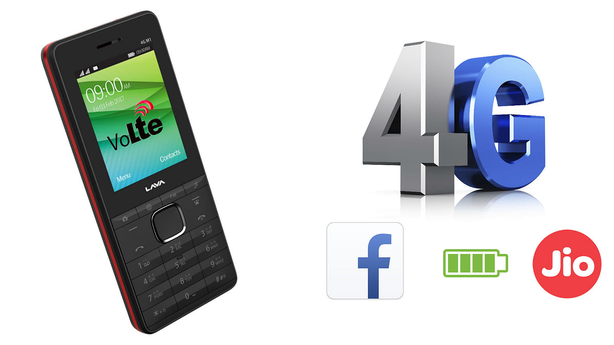 What's special about this 4G feature phone? (Photo: <b>The Quint</b>)