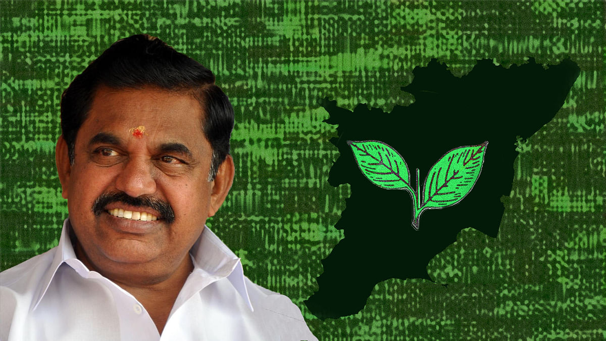 Edappadi K Palanisamy, the newly sworn in Chief Minister of Tamil Nadu.