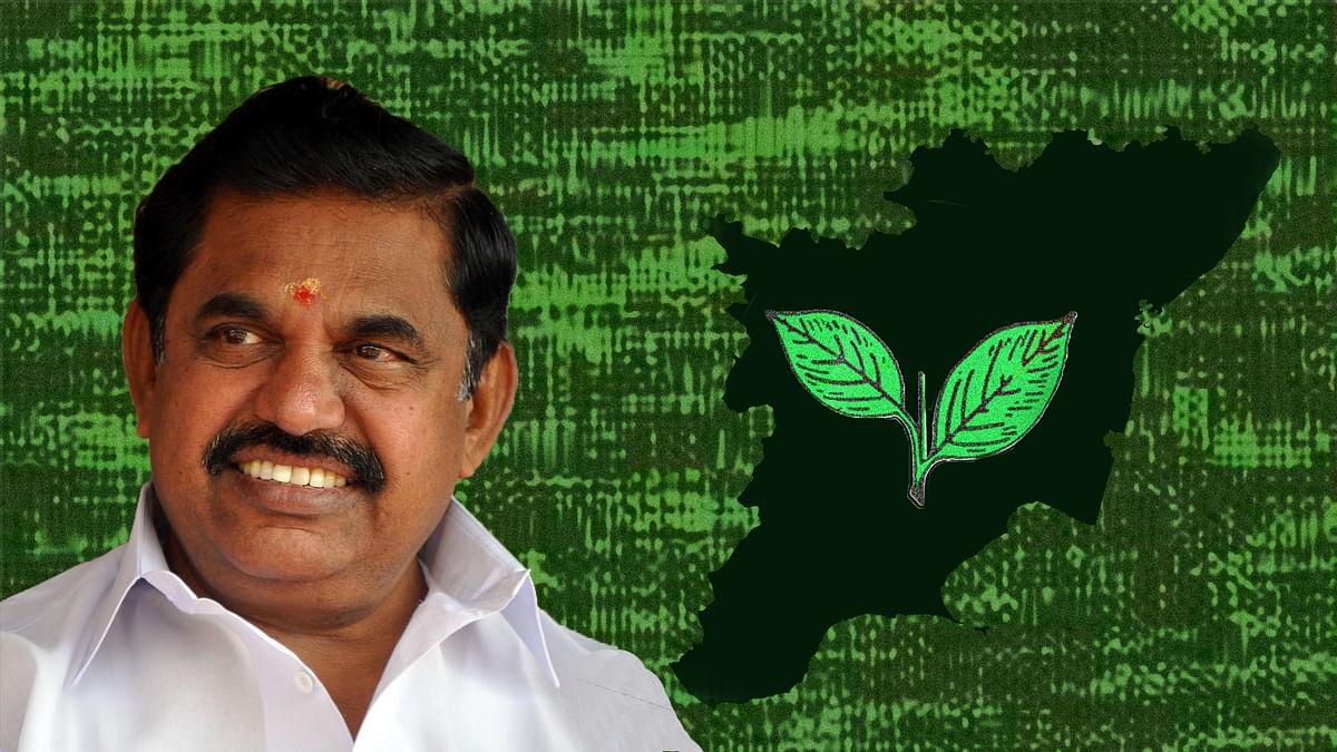 Edappadi K Palanisamy, the newly sworn in Chief Minister of Tamil Nadu. (Photo: <b>The Quint</b>)