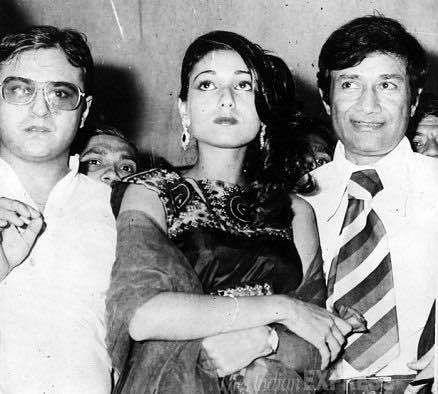 Dev Anand introduced Tina Munim to Bollywood. (Photo courtesy: Facebook/ dafaq)