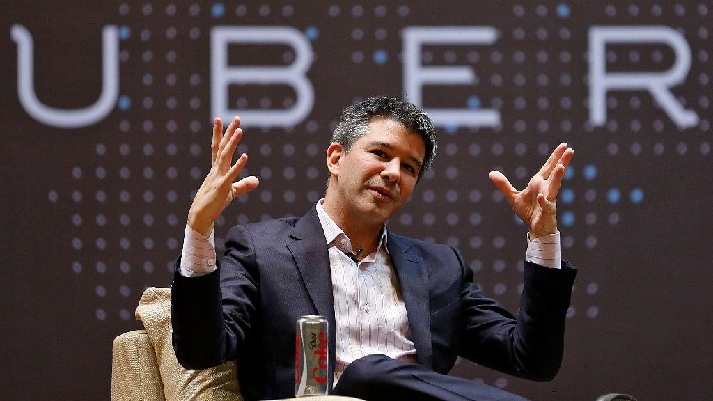 Uber CEO Travis Kalanicky. (Photo: Reuters)