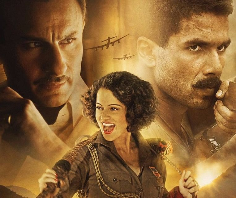 Saif, Kangana, Shahid and lots of VFX in <i>Rangoon.</i>