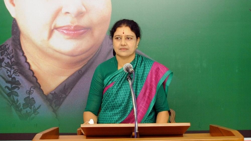 VK Sasikala was elected as the leader of the AIADMK Legislature Party, making way for her to take over as the Chief Minister of Tamil Nadu. (Photo: IANS)