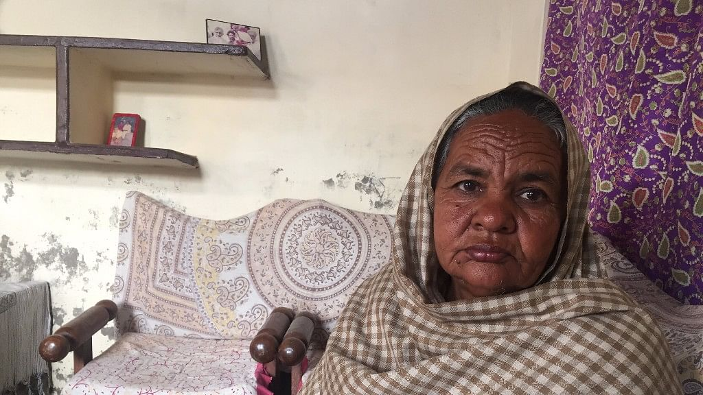 Gurmeet Kaur's son Gurtej committed suicide after he was unable to repay a loan. (Photo: Parth MN/<b>The Quint</b>)