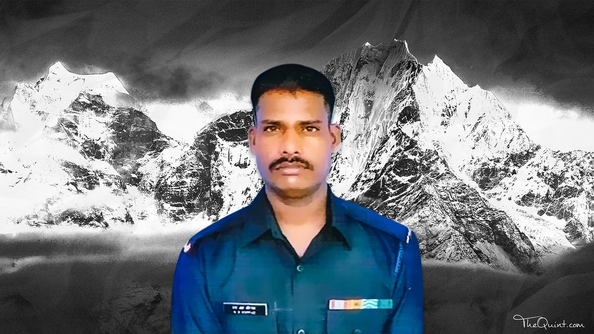 The lone survivor of the avalanche, Lance Naik Koppad won his bout against nature, but succumbed to multiple organ failure.