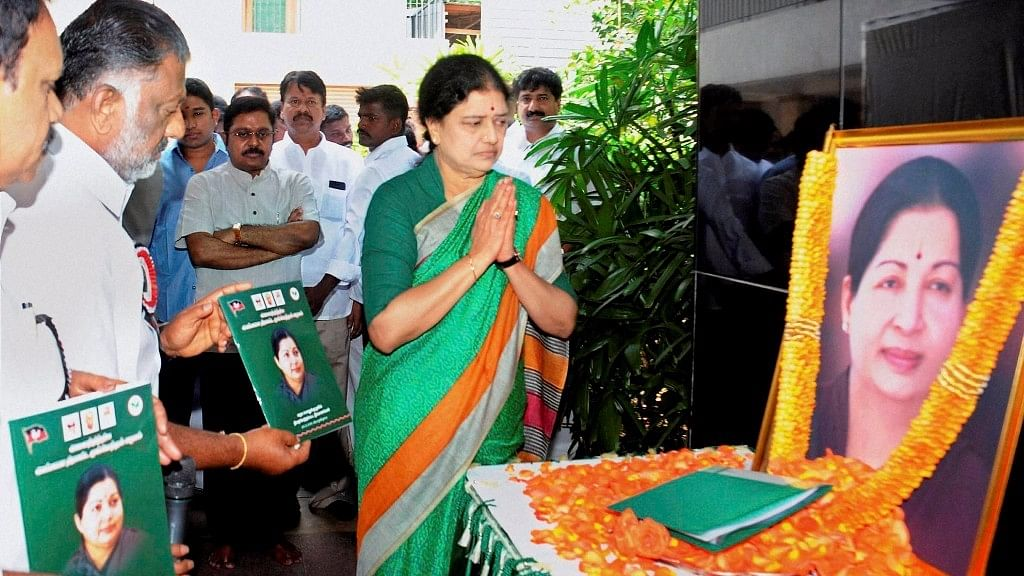 OPS' statement that Sasikala could be re-inducted into AIADMK comes at a time when Tamil Nadu is heading for elections.