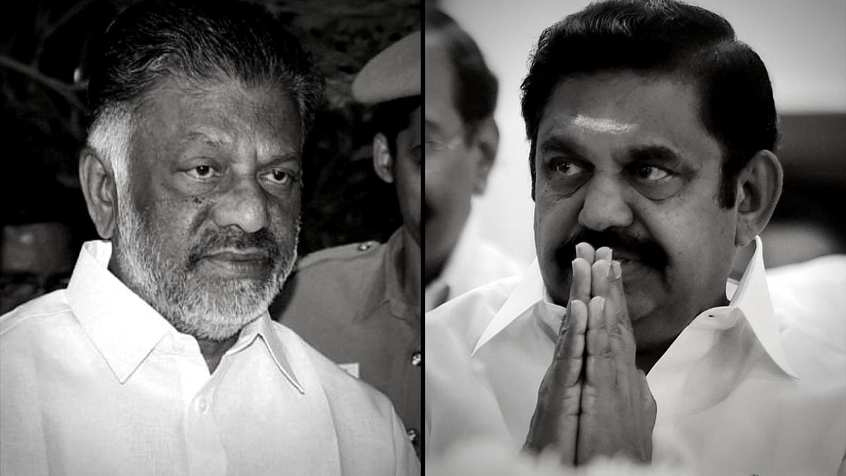 O Panneerselvam and E Palaniswami.