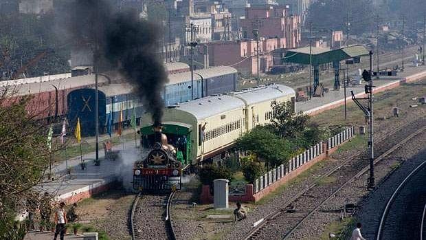 The Fairy Queen locomotive in Gurgaon. (Photo: PIB)