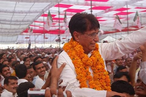 Ajit Singh is finding that Baghpat, his home turf, is not the bastion it used to be. (Photo: PTI)