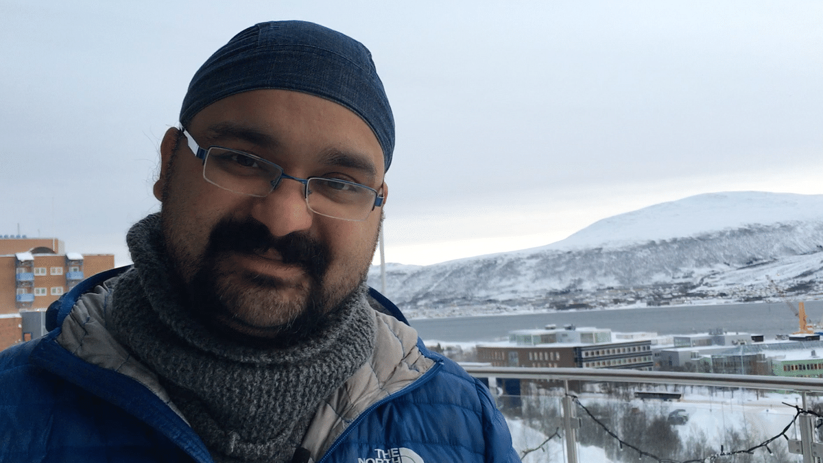 Balpreet Singh has been working in Norway for about a decade. (Photo: Manon Verchot)