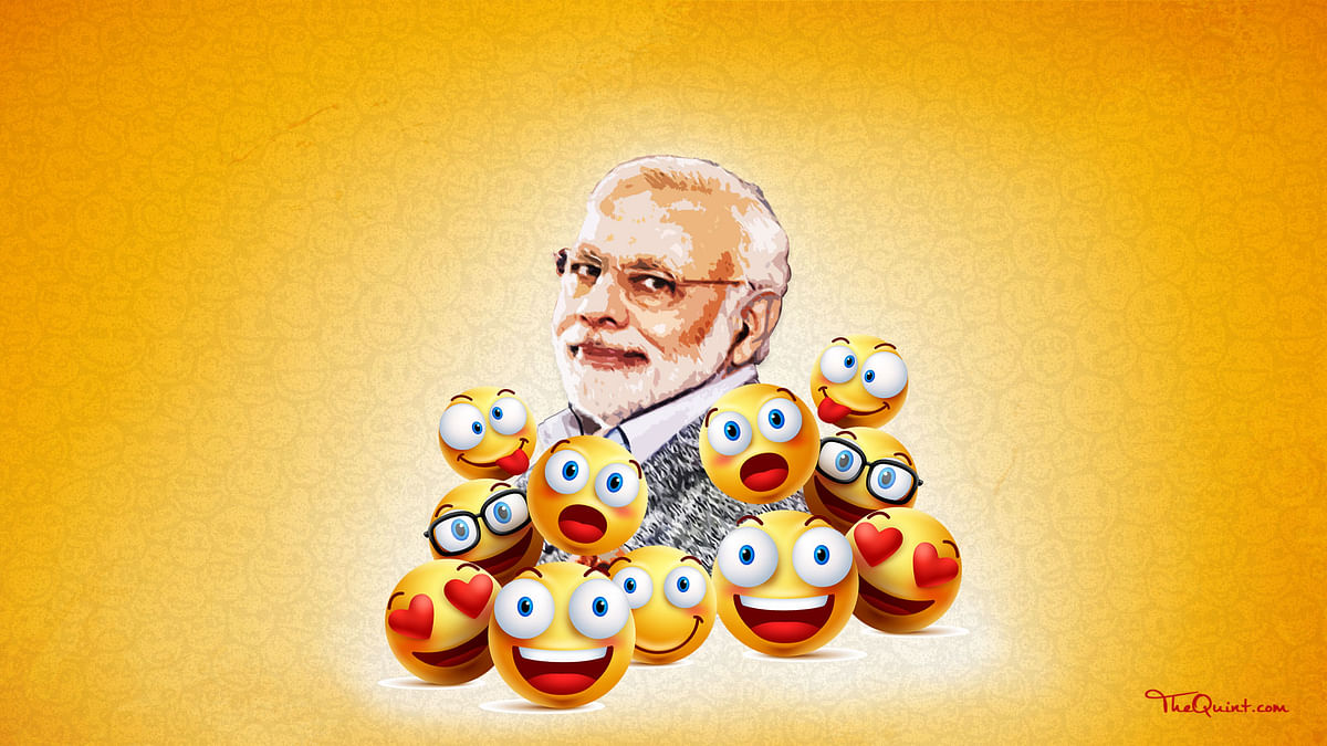 The real reason behind the outrage  over PM Modi's jibe at Manmohan Singh is that humour is next to non-existent in Indian politics. (Photo: Lijumol Joseph/<b>The Quint</b>)
