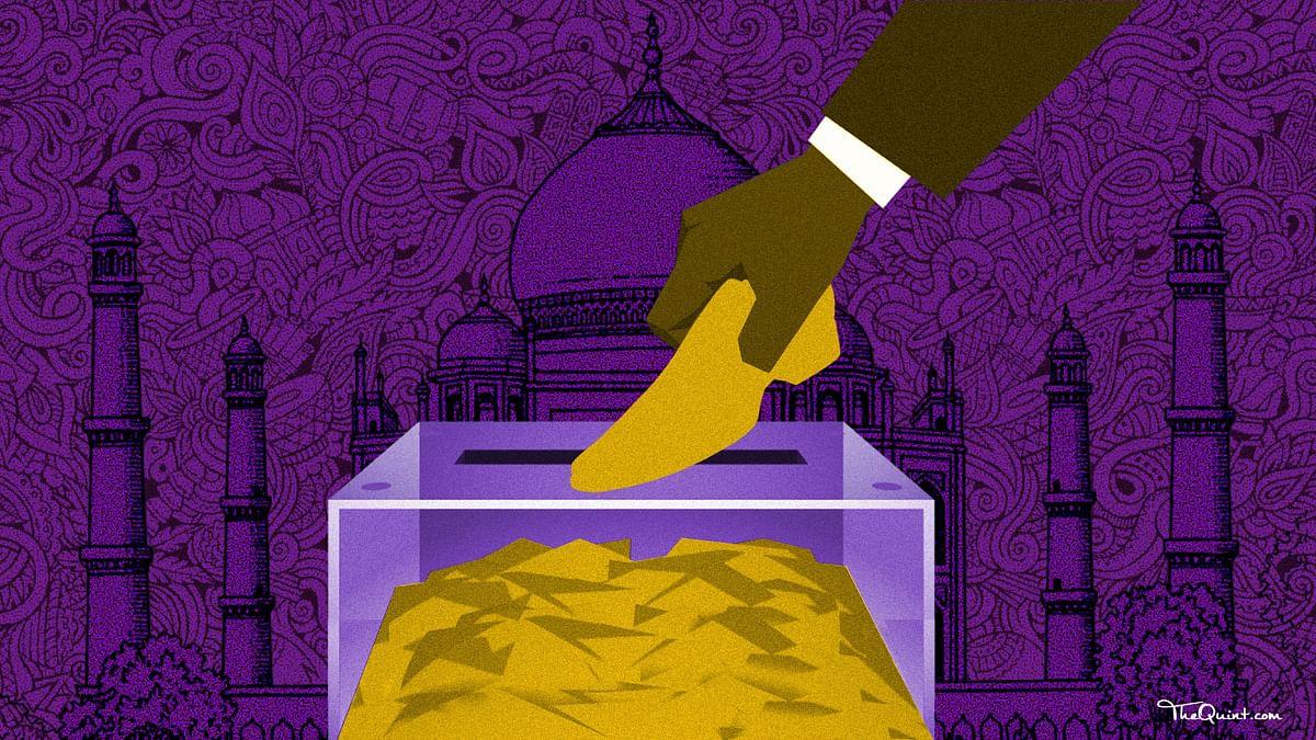 Will the BJP's Budget package, Mayawati's promises or 'yuva neta' Akhilesh Yadav woo Agra's shoe industry? (Photo: Lijumol Joseph/<b>The Quint</b>)