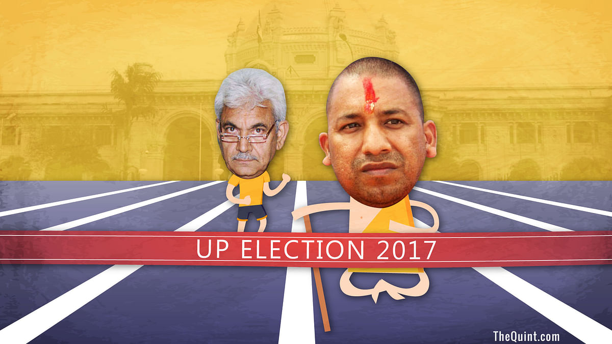 In Race for UP CM, Adityanath Pipped Manoj Sinha in the Last Lap