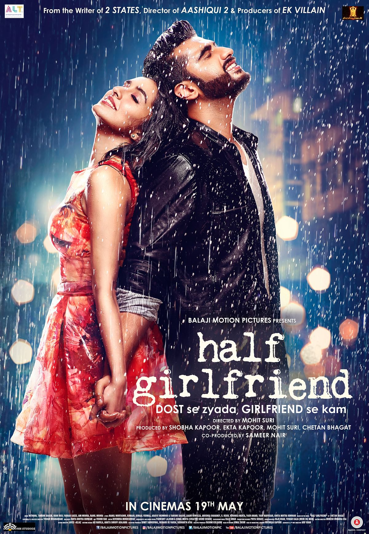 The poster of <i>Half Girlfriend</i>. (Photo courtesy: Balaji Motion Pictures)