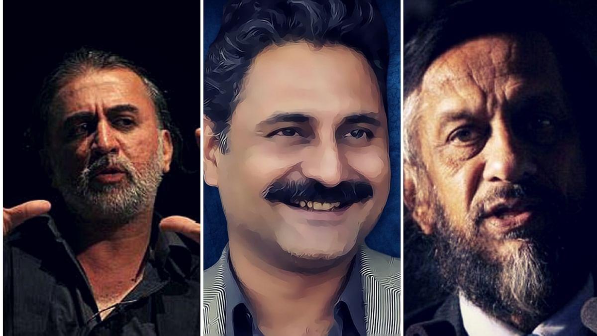 Tarun Tejpal, Mahmood Farooqui and RK Pachauri.