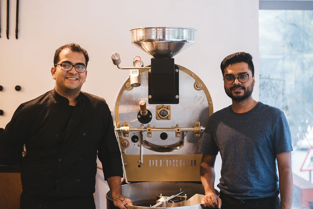 Ayush and his buddy Anirudh Sharma felt Bangalore was the right place to explore this, and the time was right for an artisanal brand like the Third Wave Roasters. (Photo Courtesy: Third Wave)