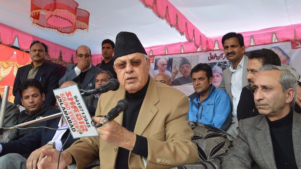 Farooq Abdullah Repeats Comments on PoK Despite Treason Charges