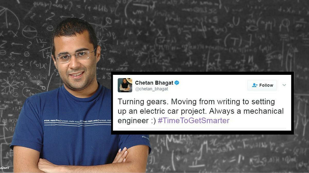 Chetan Bhagat (Photo: The Quint)