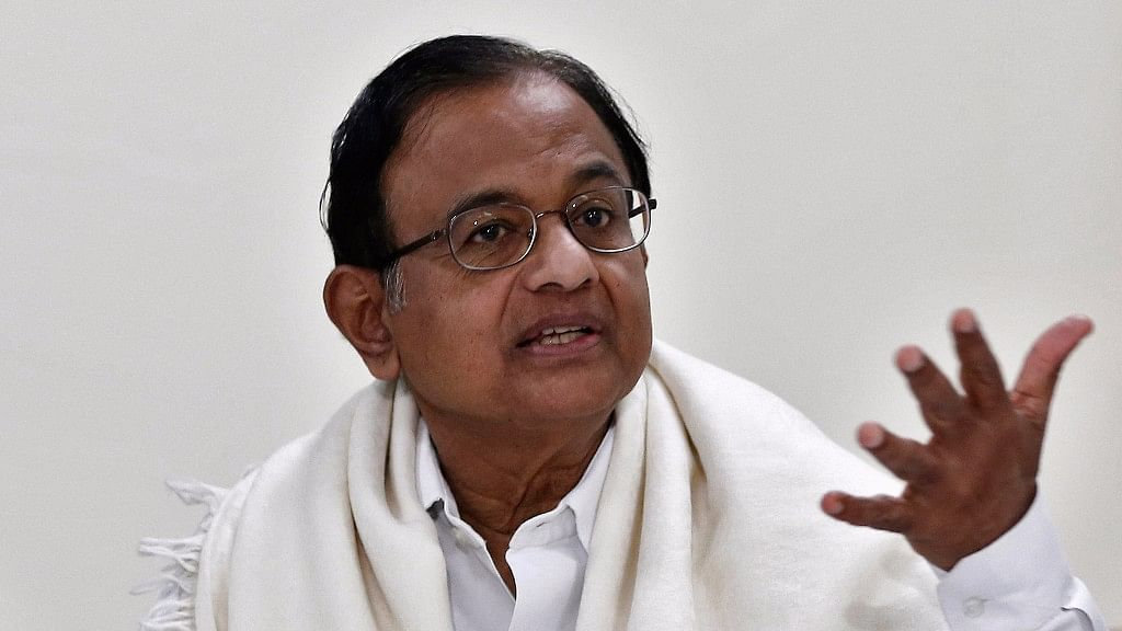 ED conducted raids at 6 places belonging to P Chidambaram.