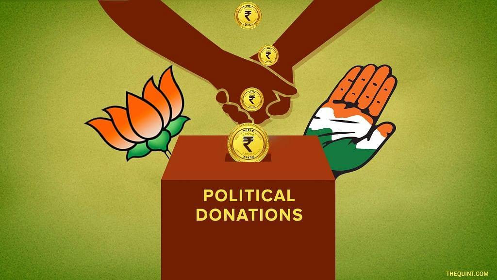 <i>Ye dosti hum nahin todenge?</i>&nbsp; Both UPA and NDA have refused to bring political parties under the ambit of the RTI. (Photo Courtesy: <b>The Quint</b>/Liju Joseph)