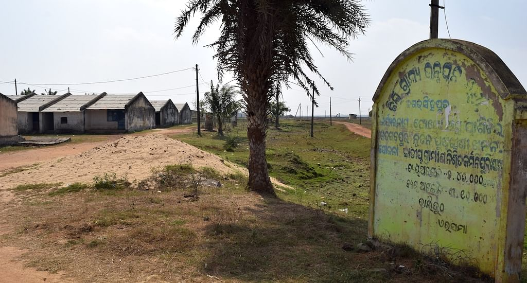 A transit camp lies abandoned after supporters of the POSCO project were evicted (Photo: The Village Square)