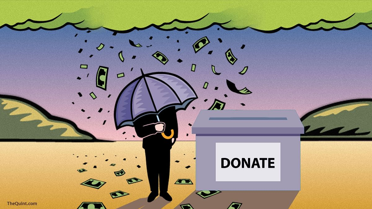 Unlimited and anonymous, that's how the Finance Bill 2017 allows companies to make political donations. (Photo: <b>The Quint</b>/Lijumol Joseph)