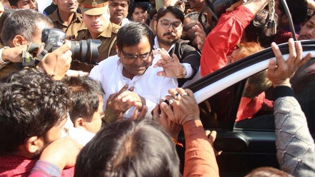 File image of Samajwadi Party leader Gayatri Prajapati.