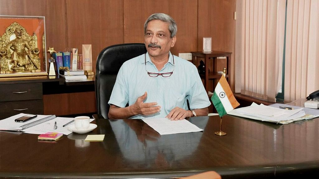 <p>Manohar Parrikar wrote a letter to BS Yeddyurappa on 21 December.</p>