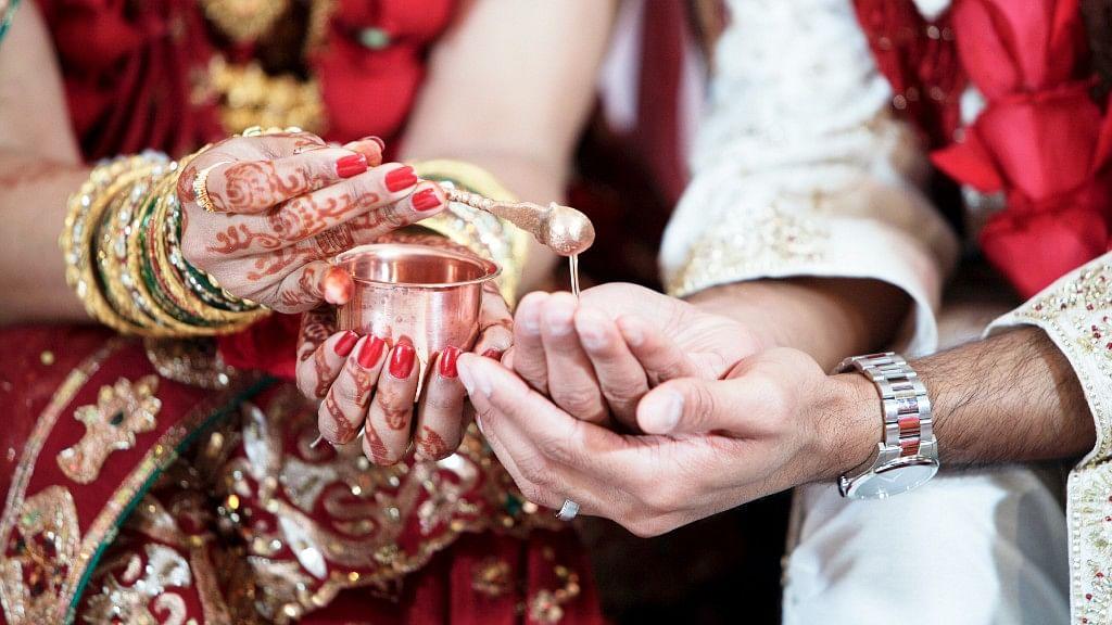 Representational image of a Hindu marriage