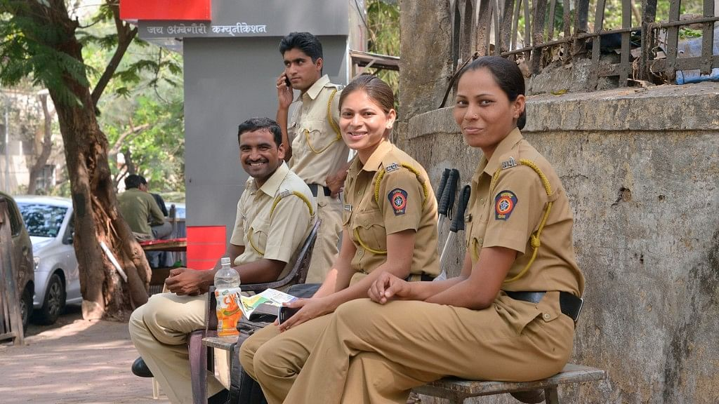 Mumbai police officers on duty (Image used for representational purpose only).