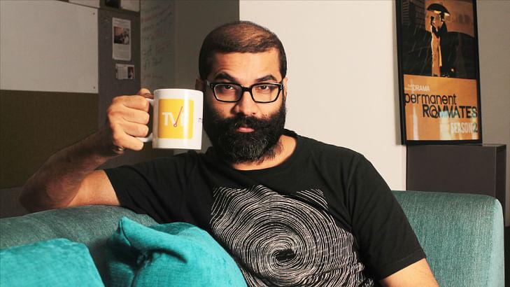Arunabh Kumar of The Viral Fever<i>&nbsp;</i>(Photo courtesy: Twitter)