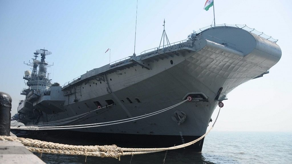 INS Viraat. (Photo Courtesy: IANS)