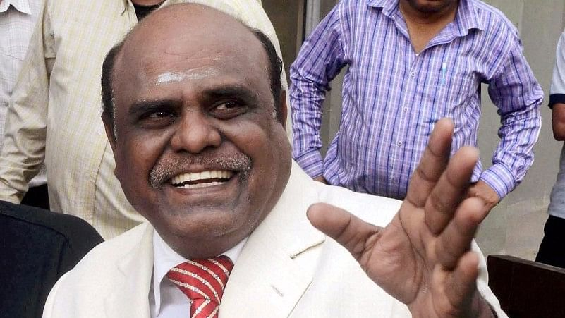 Justice Karnan is facing contempt charges for his corruption allegations against the judges of Madras High Court and Supreme Court. (Photo: PTI)